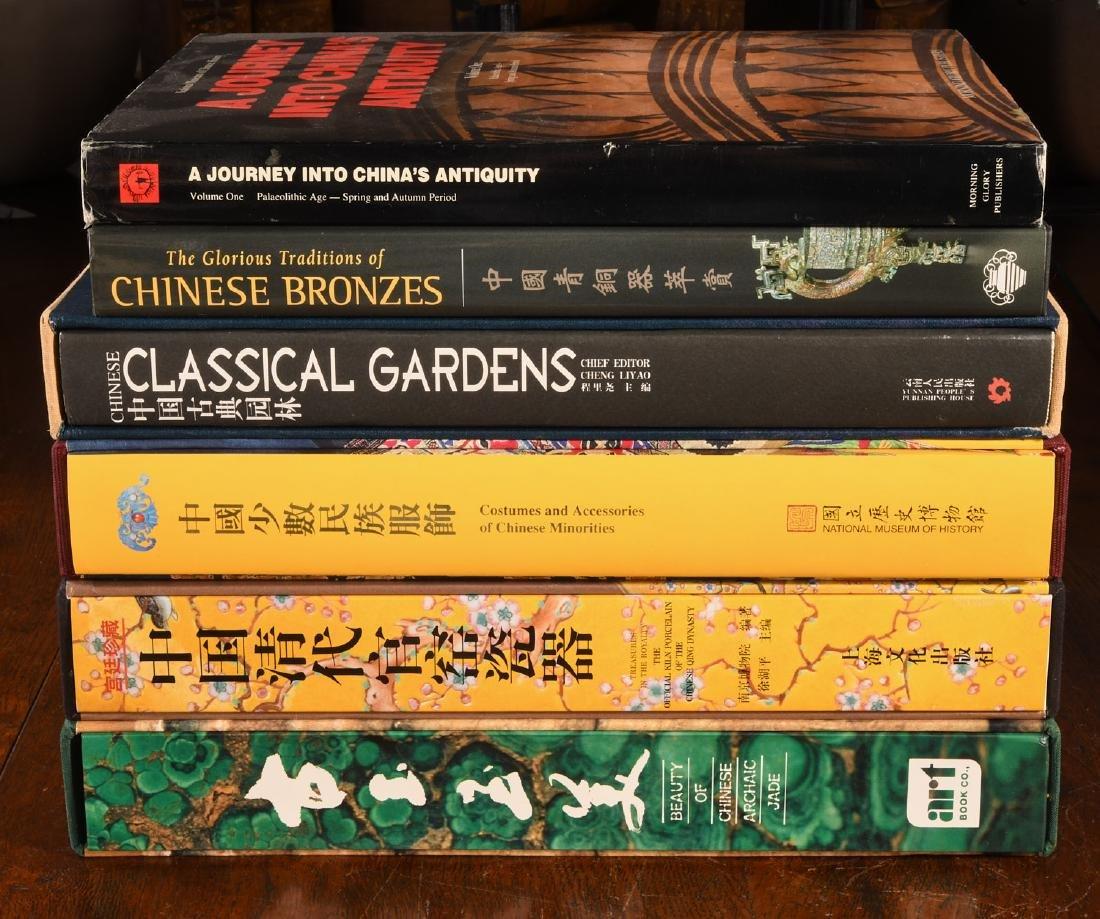 BOOKS: (6) Vols Chinese Qing Porcelain Jade Bronze - 2