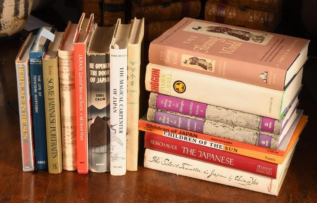 BOOKS: (16) Vols Nonfiction & Fiction on Japan