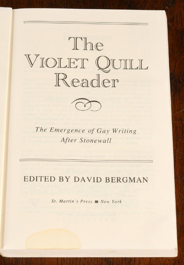 BOOKS: (21) Vols Gay Fiction & Literature - 9