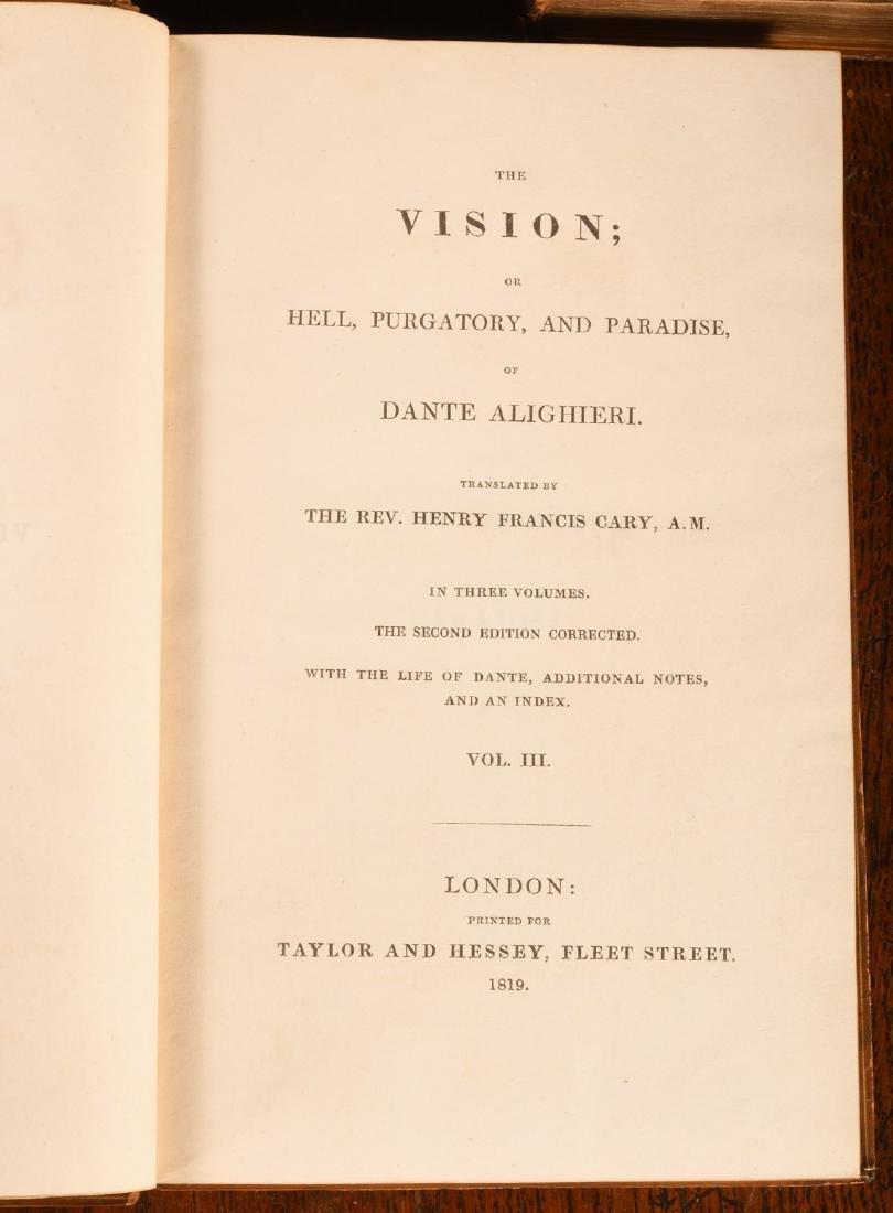 BOOKS: Dante 1819 2nd Ed Complete 3 Volumes - 4