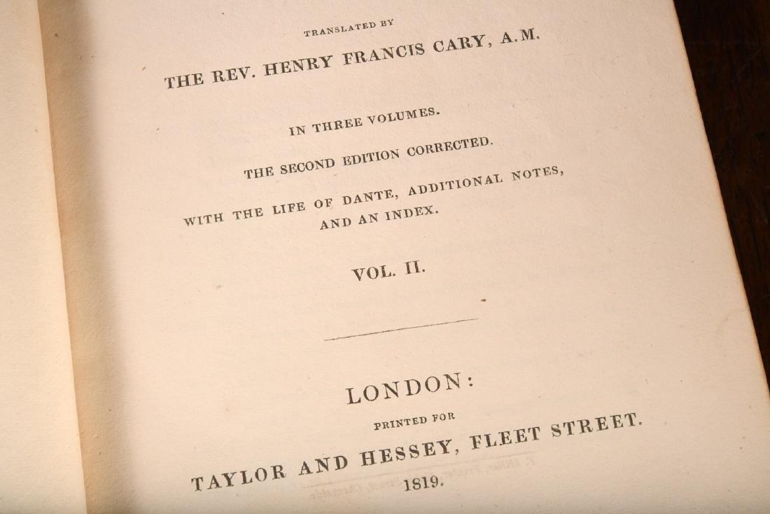 BOOKS: Dante 1819 2nd Ed Complete 3 Volumes - 5