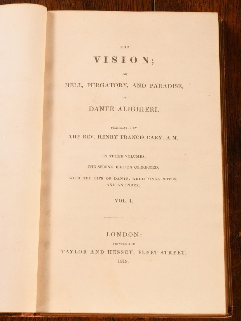 BOOKS: Dante 1819 2nd Ed Complete 3 Volumes - 6