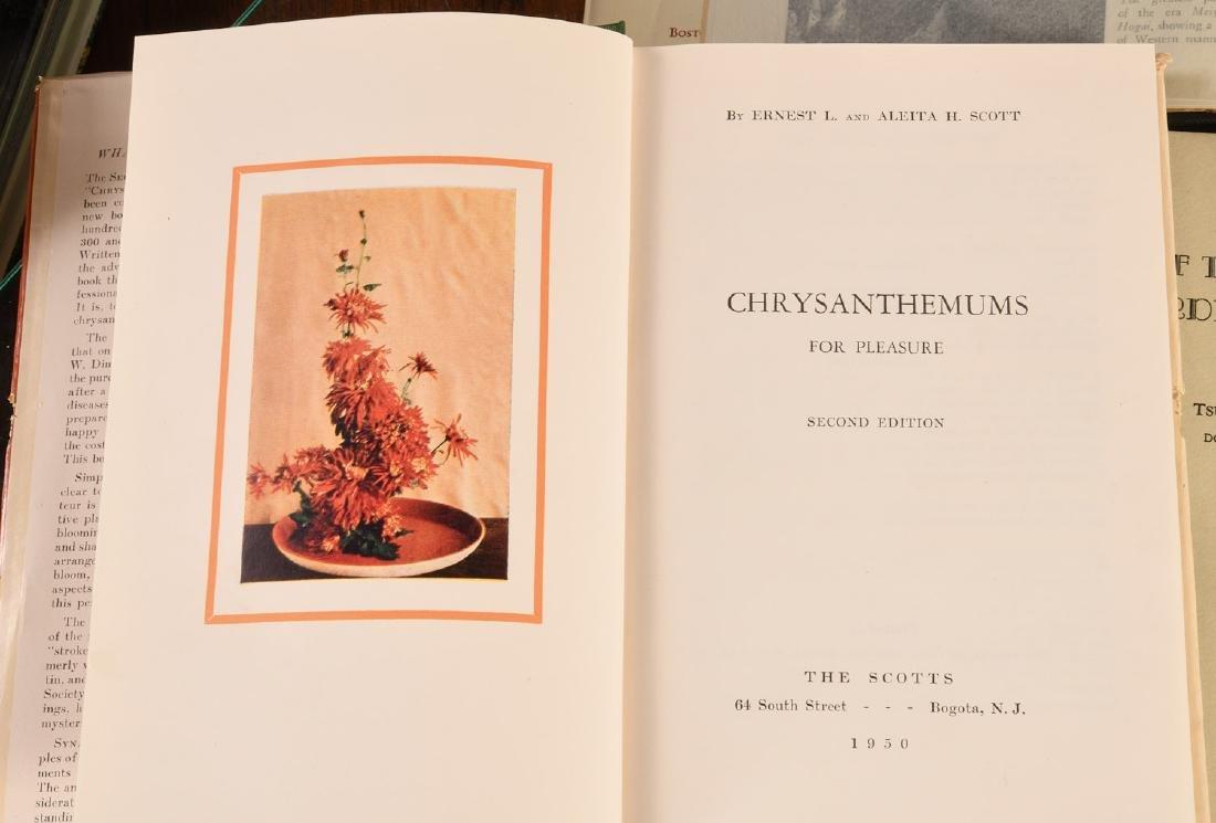 BOOKS: (9) Vols Gardening & Japanese Gardens - 4