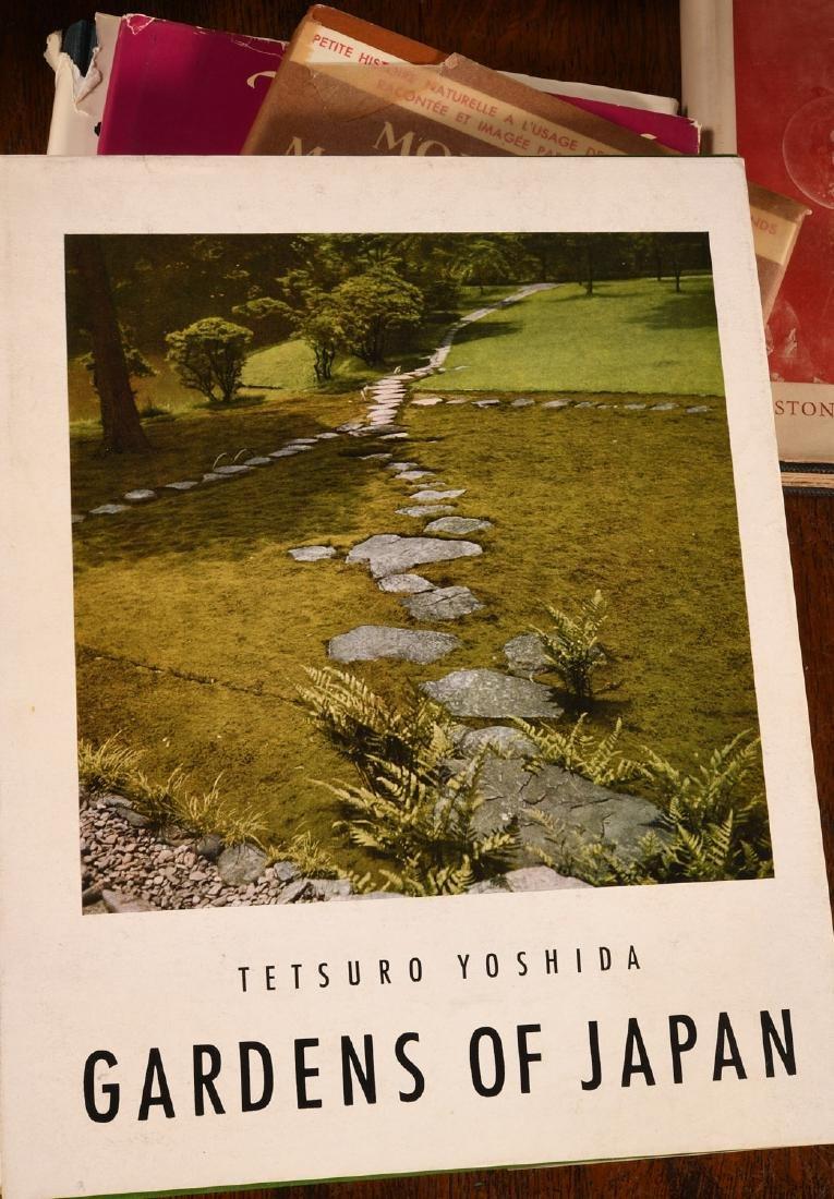 BOOKS: (9) Vols Gardening & Japanese Gardens - 8