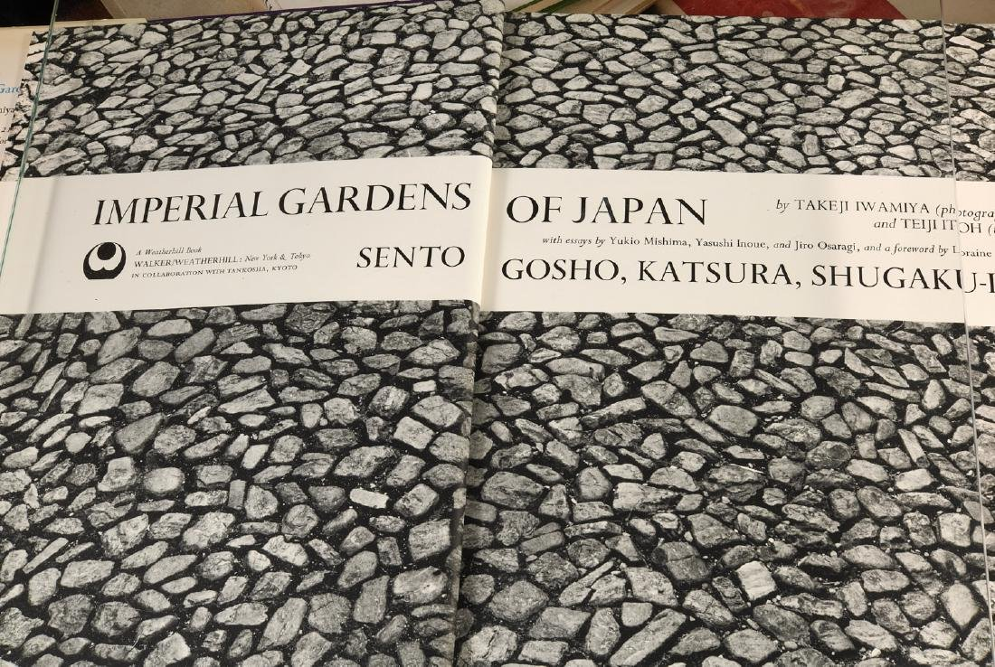 BOOKS: (9) Vols Gardening & Japanese Gardens - 9