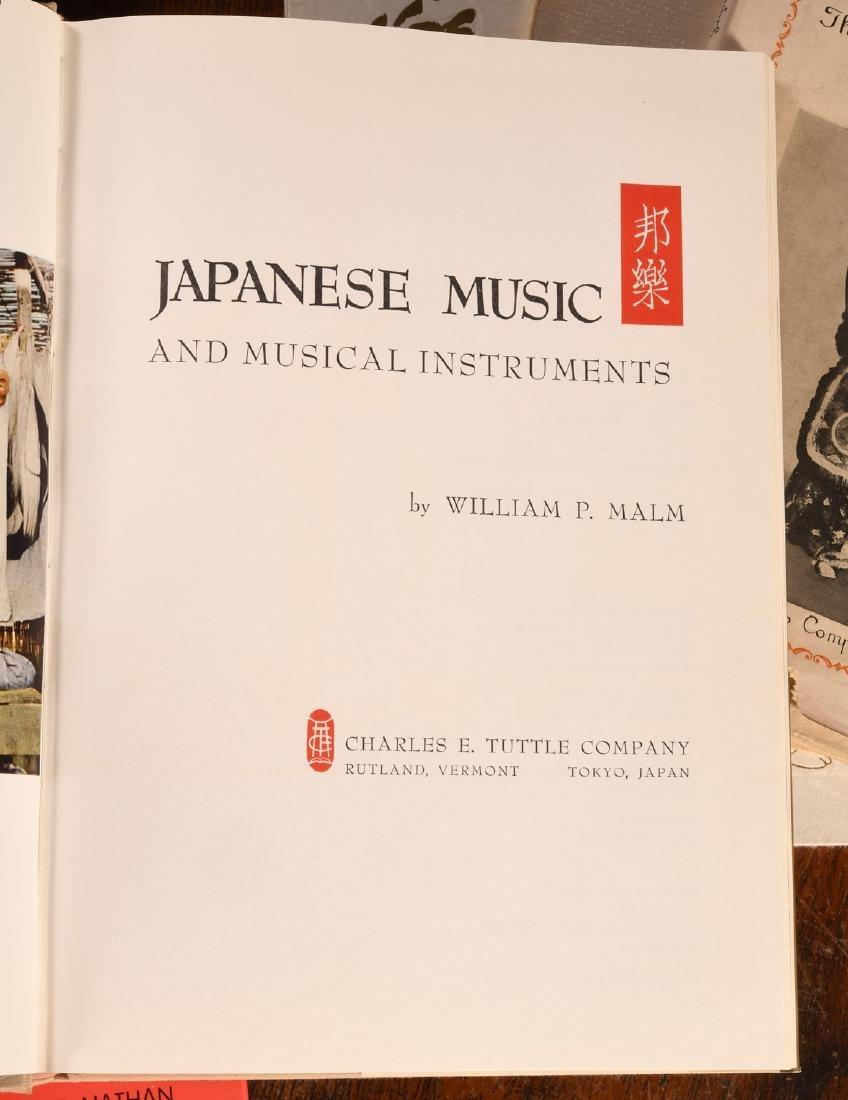 BOOKS: (7) Vols Japanese Dance & Music - 2