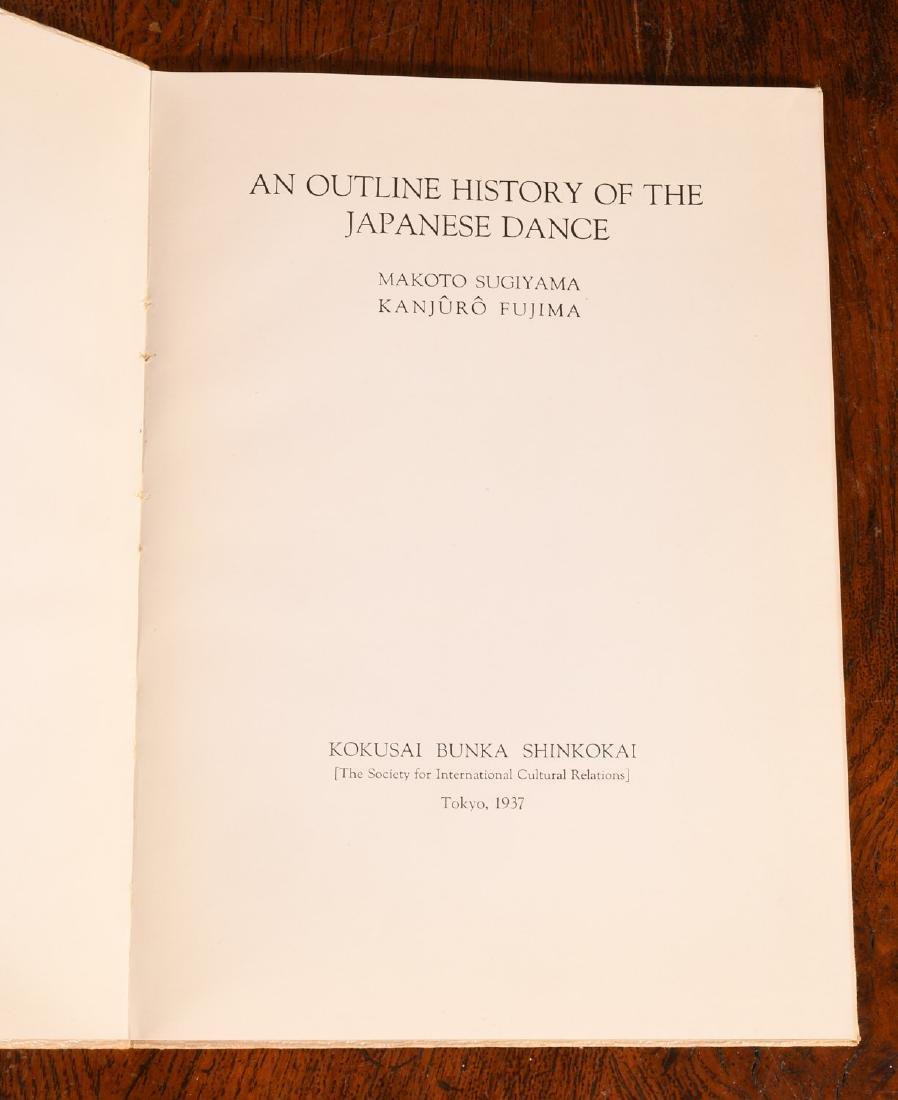 BOOKS: (7) Vols Japanese Dance & Music - 6