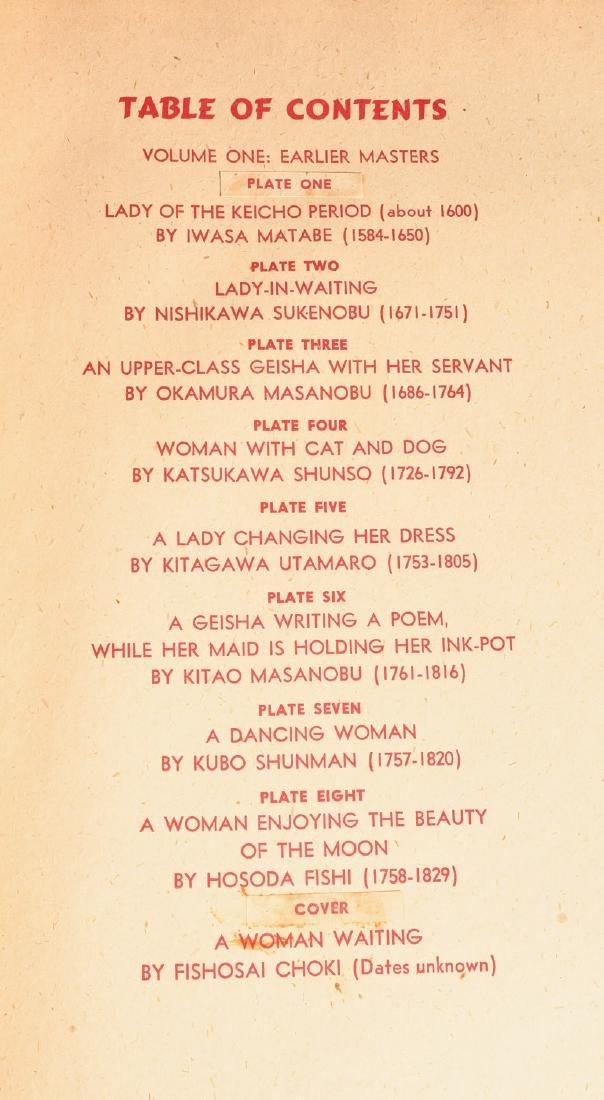 BOOKS: (2) Vols Women of Japan 1950 w/Woodcuts - 4