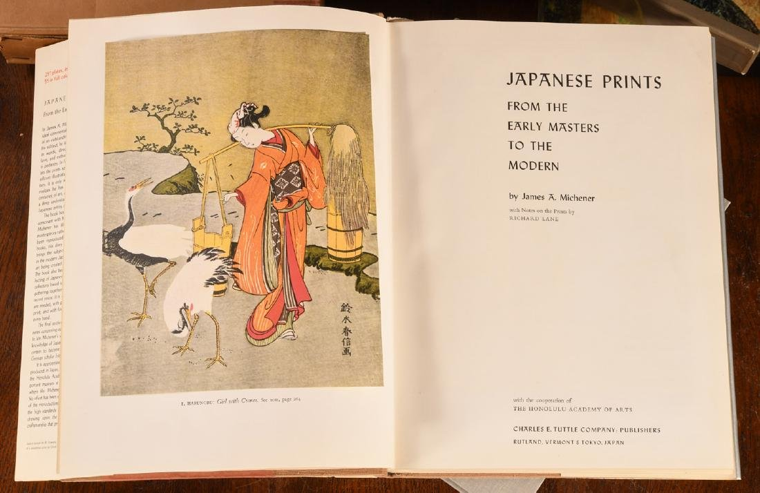 BOOKS: (7) Vols Japanese Prints and Painting - 5
