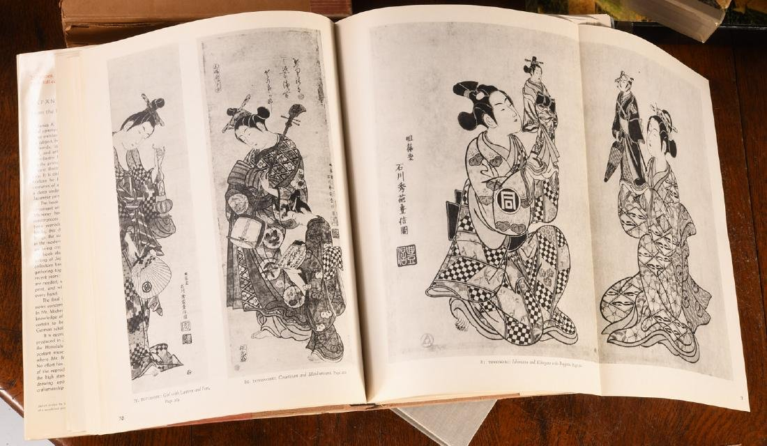 BOOKS: (7) Vols Japanese Prints and Painting - 6