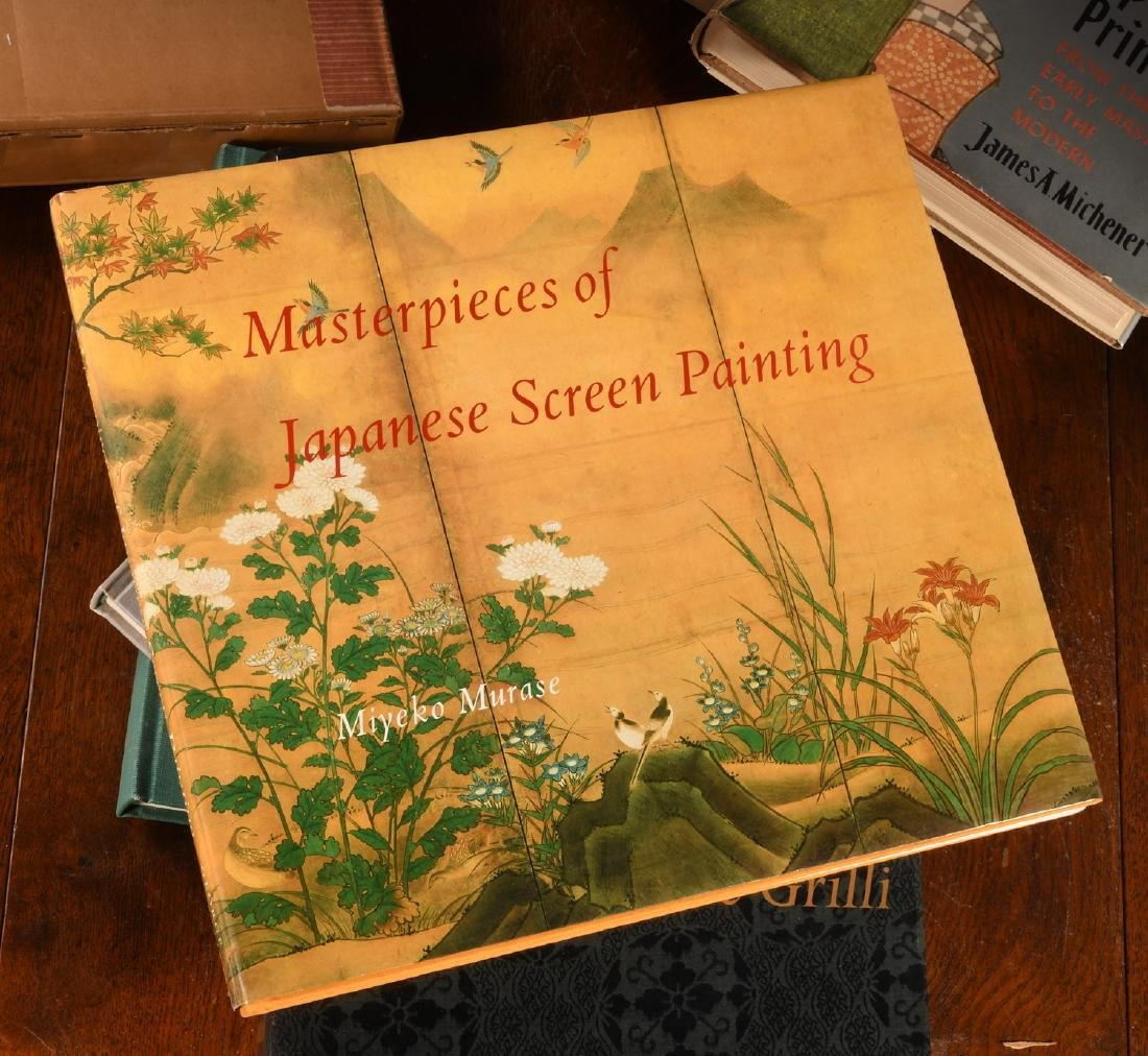 BOOKS: (7) Vols Japanese Prints and Painting - 7
