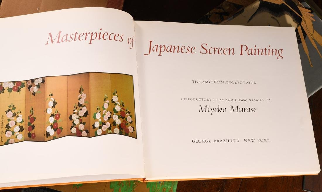 BOOKS: (7) Vols Japanese Prints and Painting - 8
