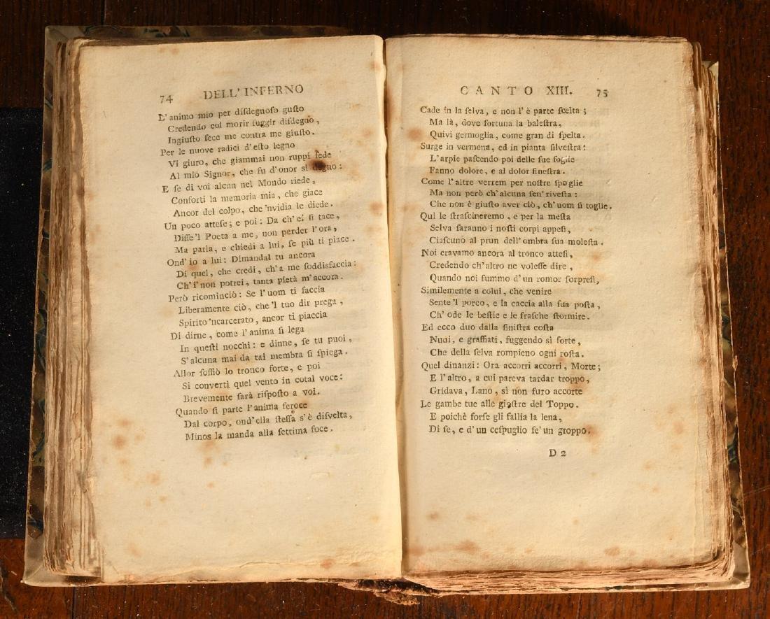 BOOKS: 1778 Dante La Divina Commedia - 5