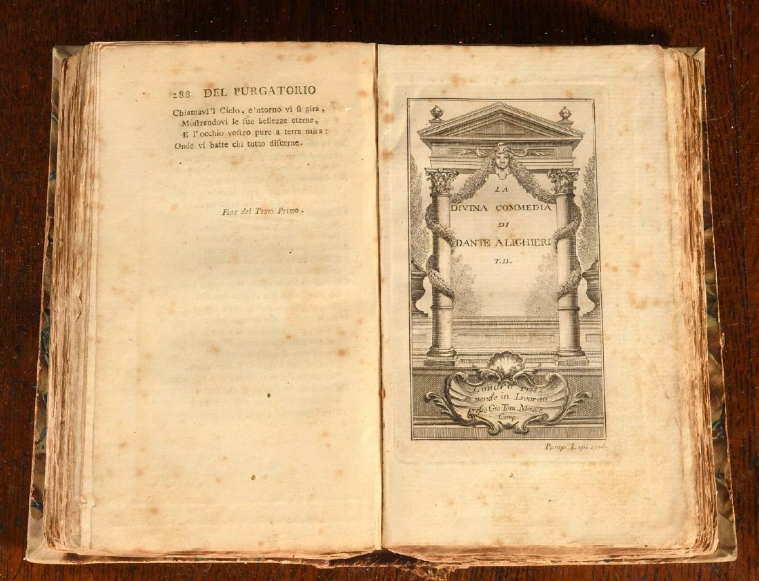 BOOKS: 1778 Dante La Divina Commedia - 6
