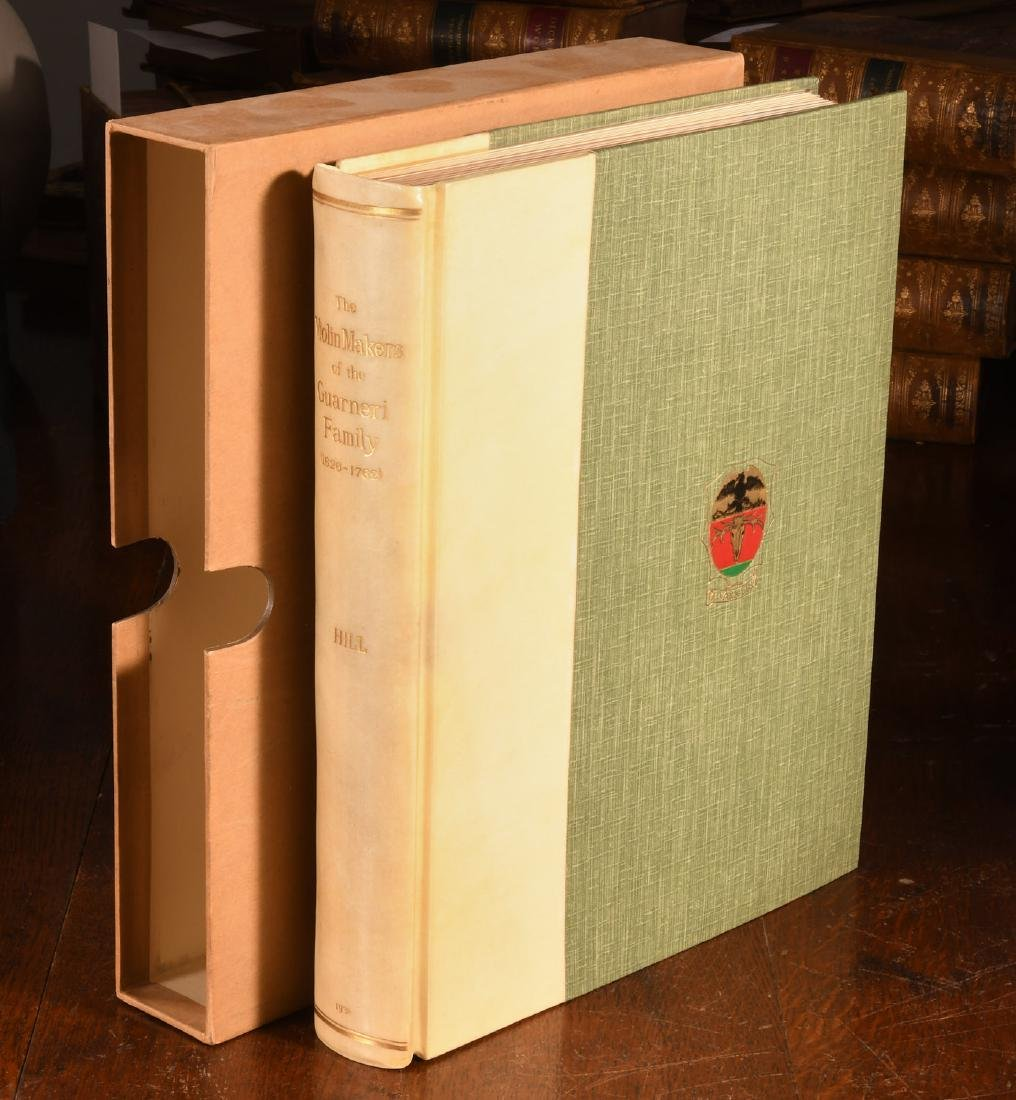 BOOKS: Violin-Makers of the Guarneri Family 1931
