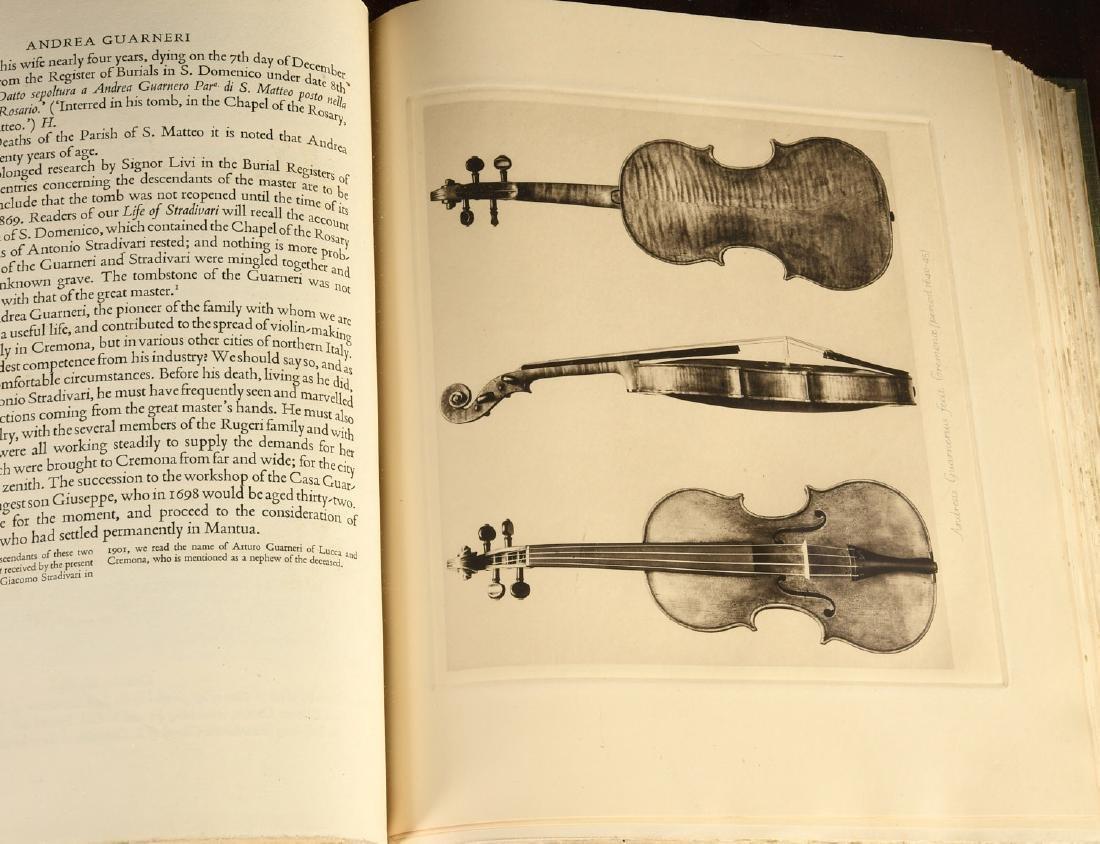 BOOKS: Violin-Makers of the Guarneri Family 1931 - 6