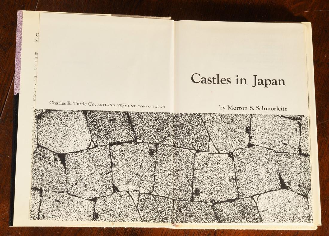 BOOKS: (9) Vols Japanese Castles & Palaces - 4