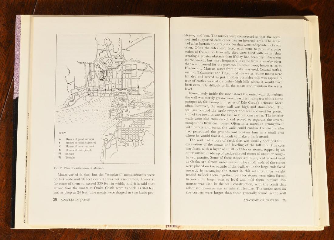 BOOKS: (9) Vols Japanese Castles & Palaces - 5