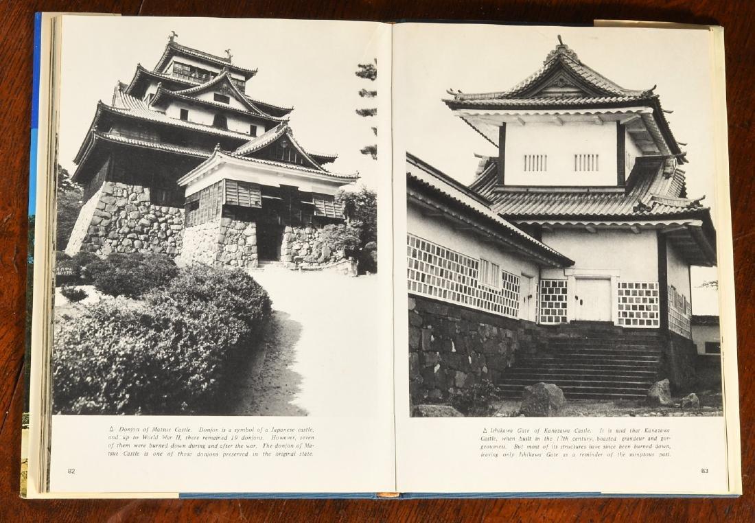 BOOKS: (9) Vols Japanese Castles & Palaces - 6