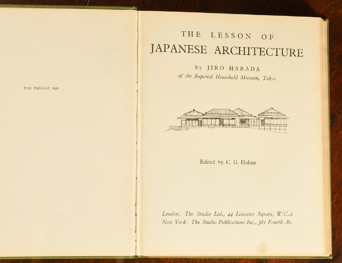 BOOKS: (8) Vols Japanese Architecture & Houses - 2