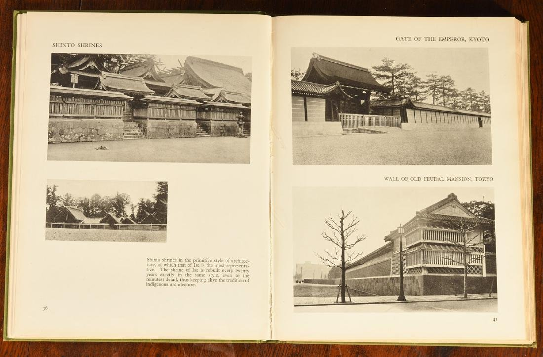 BOOKS: (8) Vols Japanese Architecture & Houses - 3