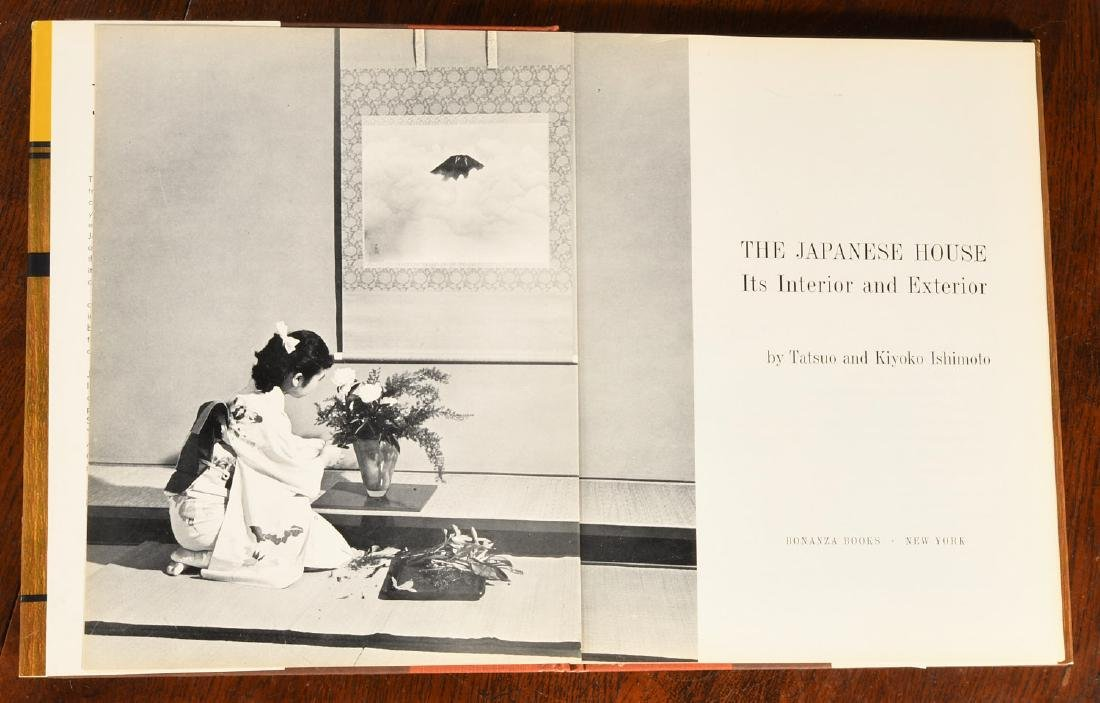 BOOKS: (8) Vols Japanese Architecture & Houses - 5