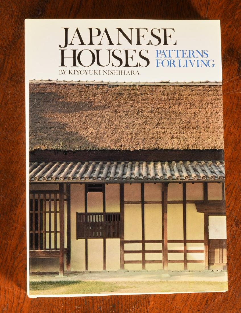BOOKS: (8) Vols Japanese Architecture & Houses - 8