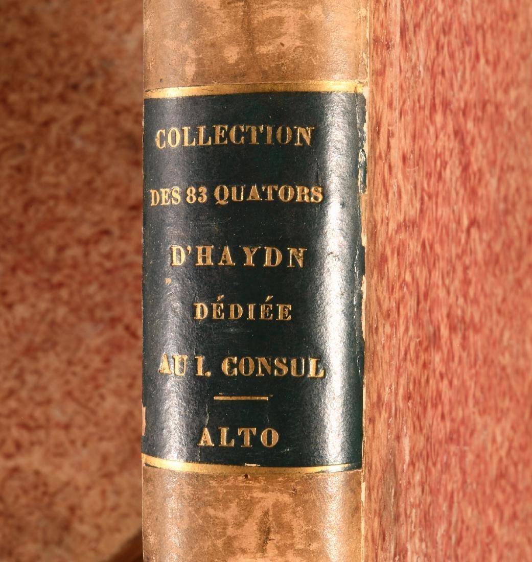 BOOKS: (4) Vols 1800 Complete Music of Haydn Paris - 5