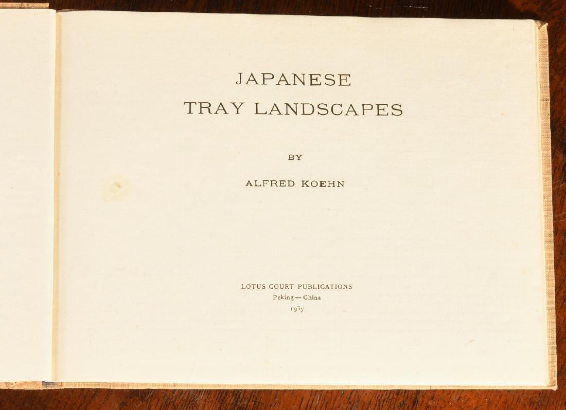 BOOKS: (4) Vols Japanese Prints Signed Ltd Ed - 10