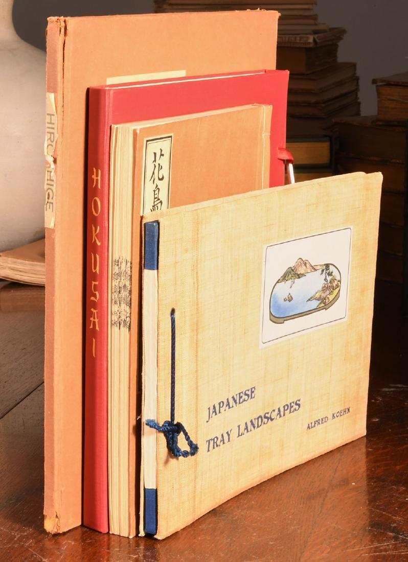BOOKS: (4) Vols Japanese Prints Signed Ltd Ed