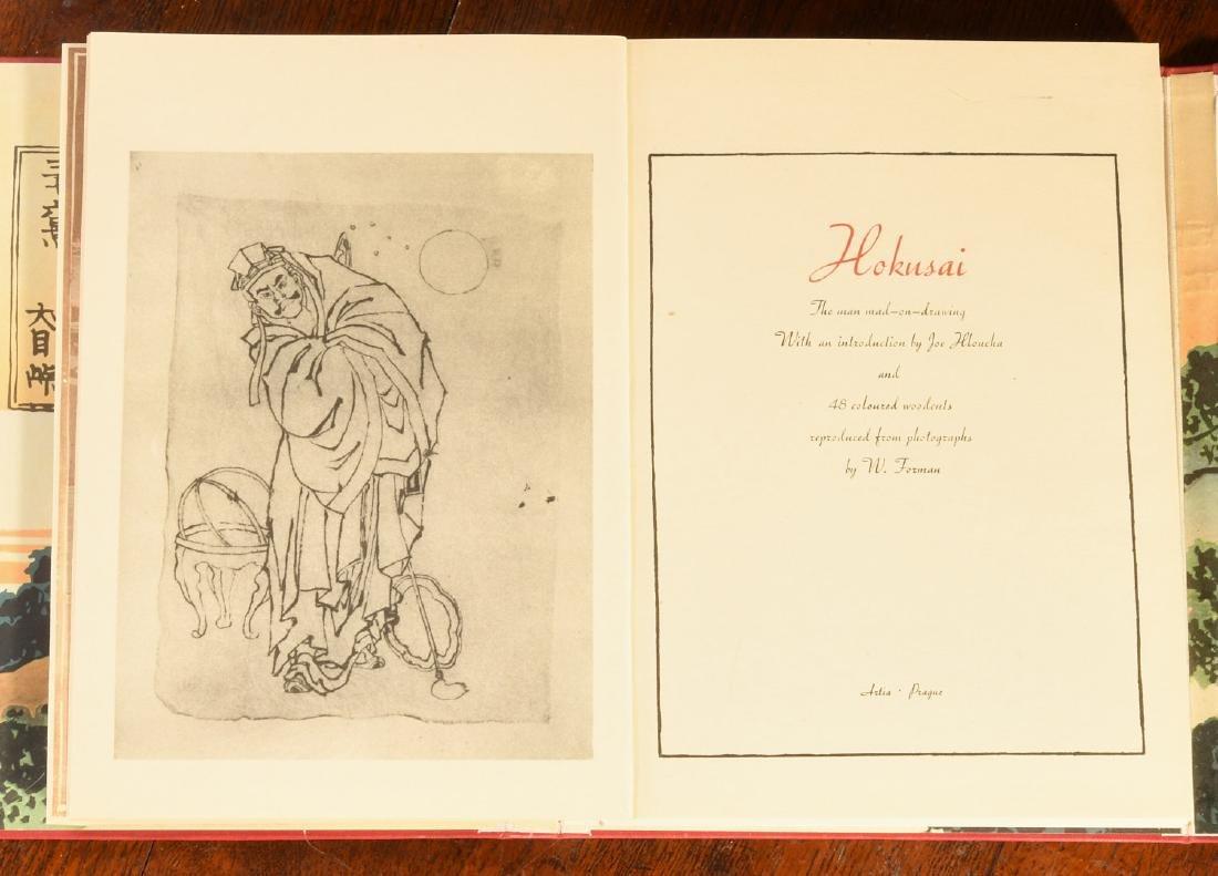 BOOKS: (4) Vols Japanese Prints Signed Ltd Ed - 4