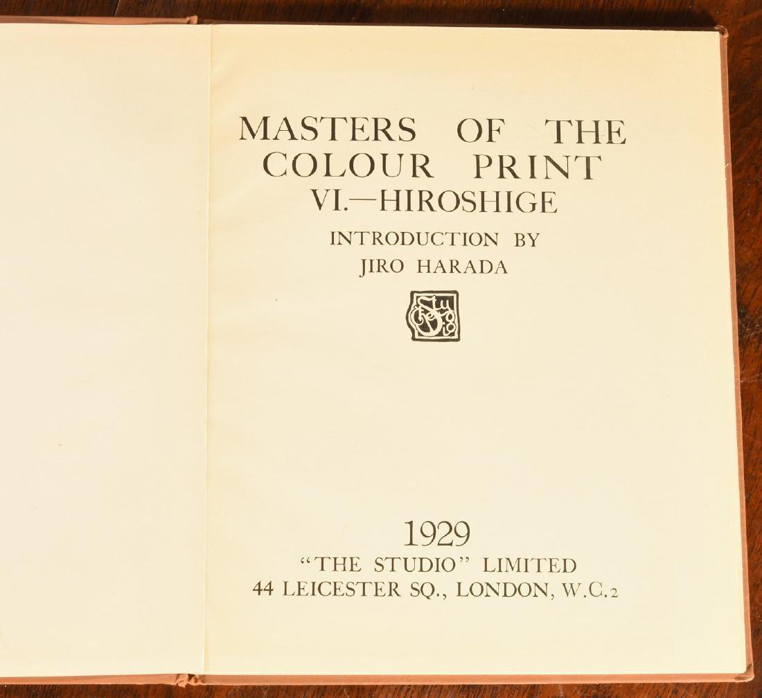 BOOKS: (4) Vols Japanese Prints Signed Ltd Ed - 6