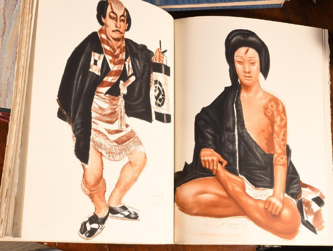 BOOKS: Le Theatre Japonais Kabuki 1933 Iacovleff - 10