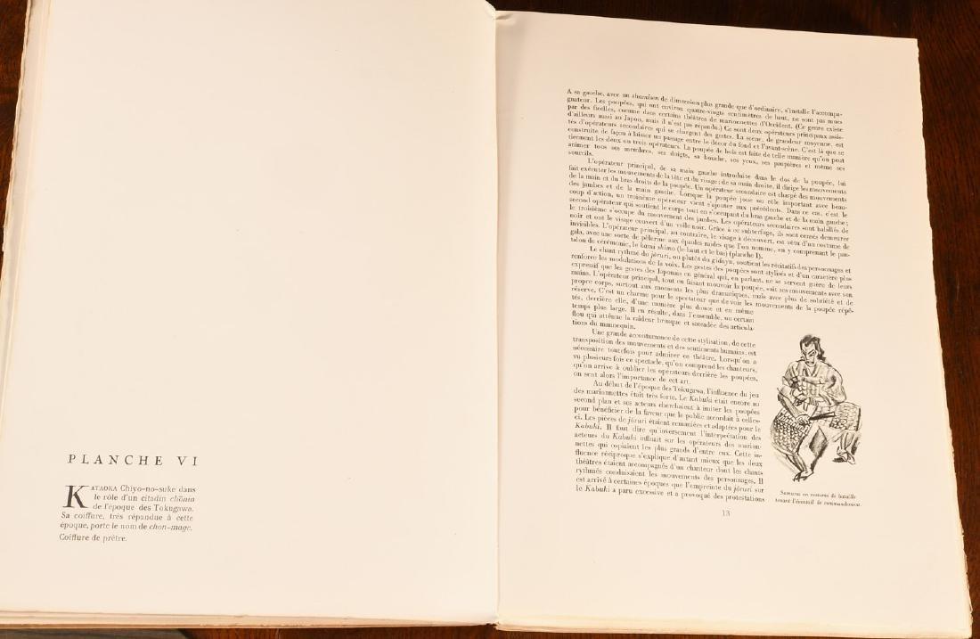 BOOKS: Le Theatre Japonais Kabuki 1933 Iacovleff - 3