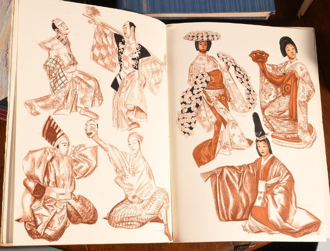 BOOKS: Le Theatre Japonais Kabuki 1933 Iacovleff - 9