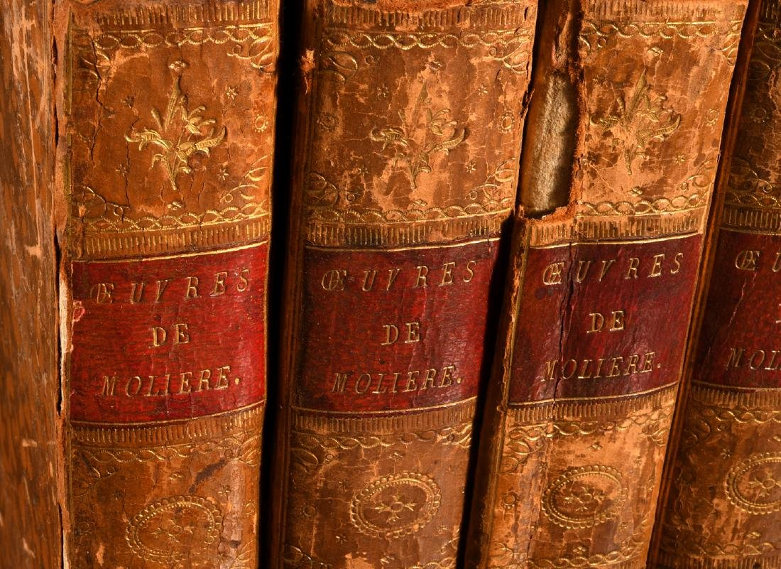 BOOKS: (6) Vols Works of Moliere 1788 French - 2