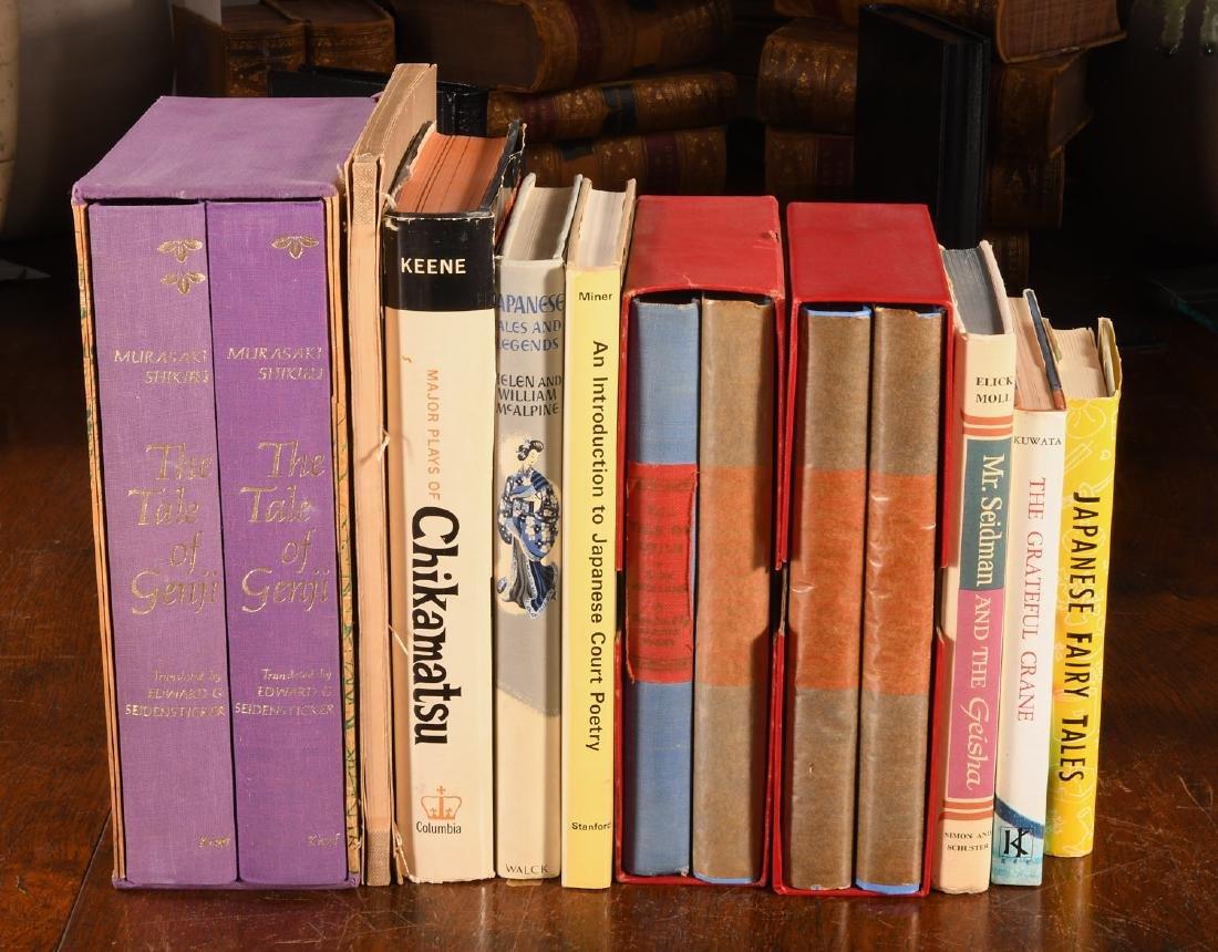 BOOKS: (10) Vols Japanese Literature in English
