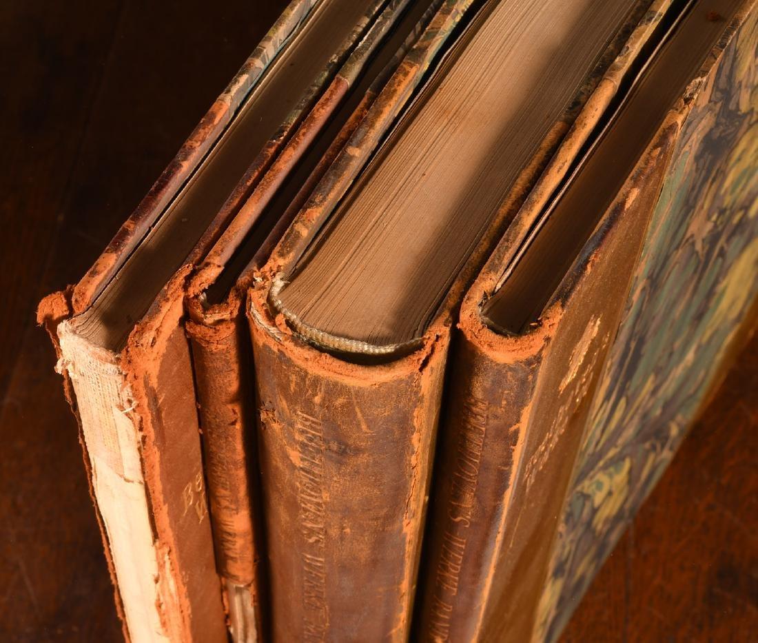 BOOKS: (4) Vols Beethoven's Werke 1880 Music - 2
