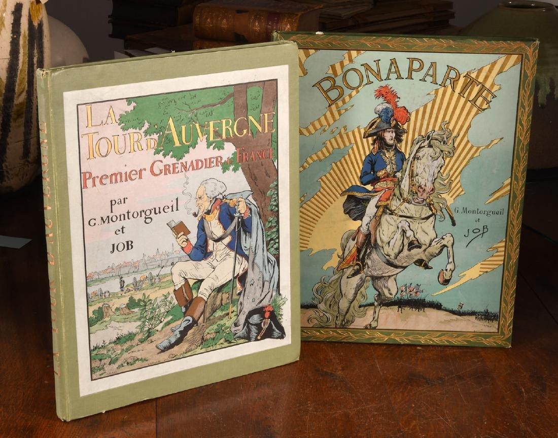 BOOKS: (2) Illustrated by JOB Auvergne Bonaparte