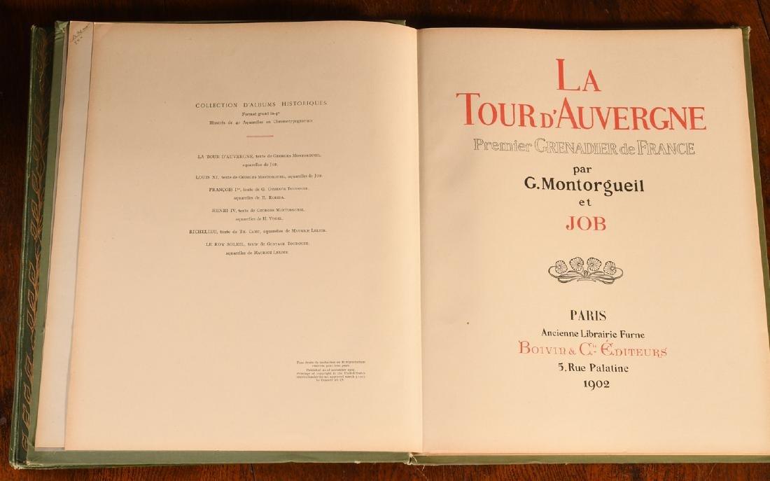 BOOKS: (2) Illustrated by JOB Auvergne Bonaparte - 2