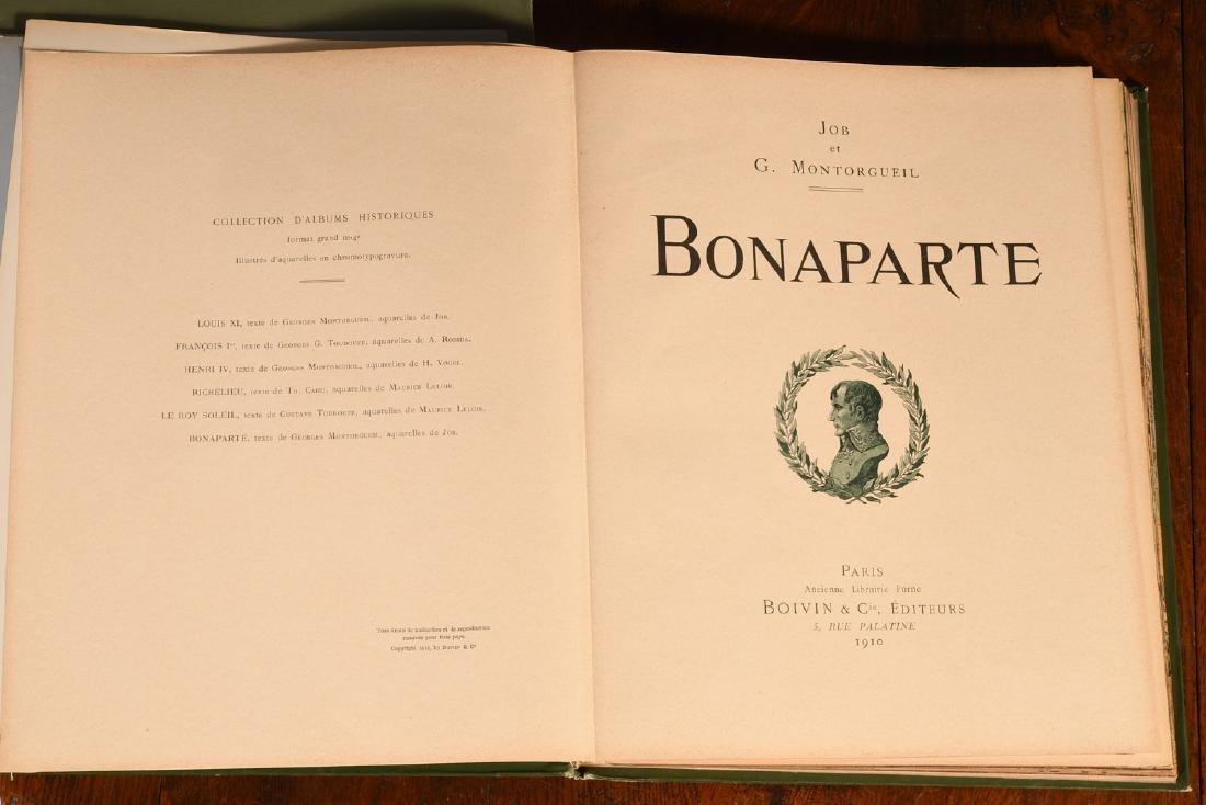 BOOKS: (2) Illustrated by JOB Auvergne Bonaparte - 5