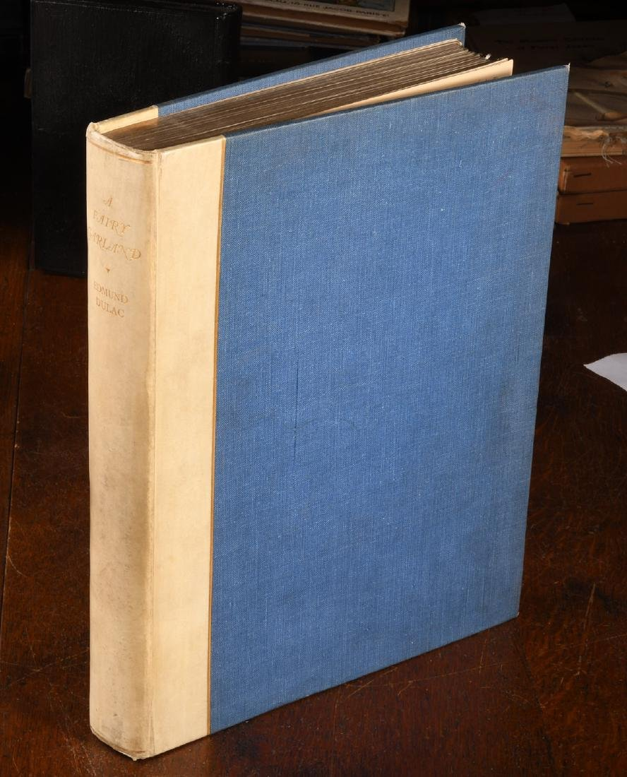 BOOKS: Fairy Garland SIGNED Dulac Ltd Ed 1928