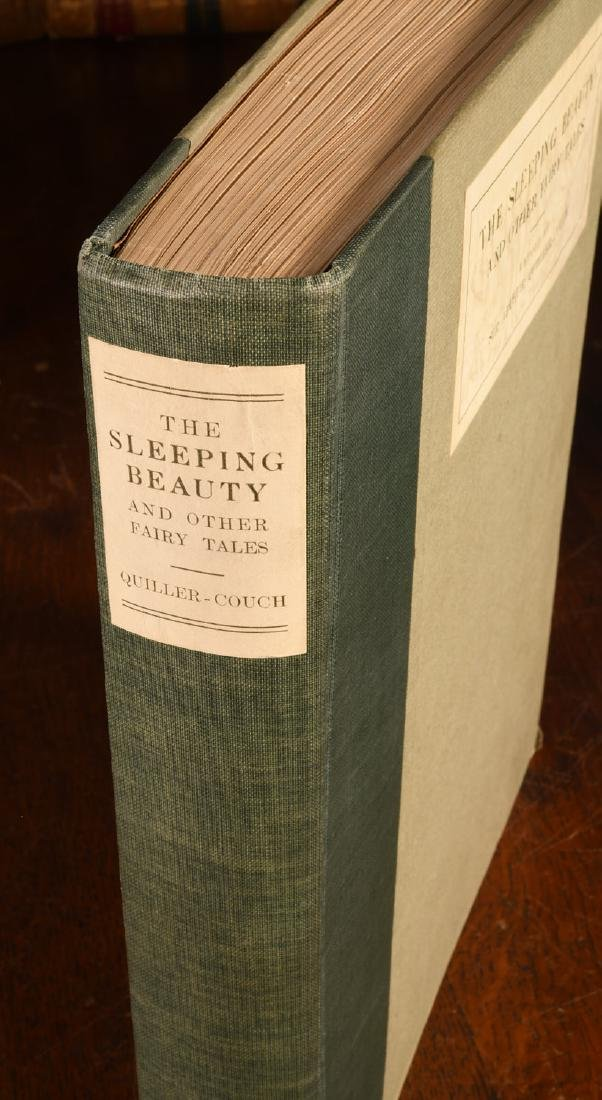 BOOKS: Edmund Dulac 1910 Sleeping Beauty 30 Plates - 2