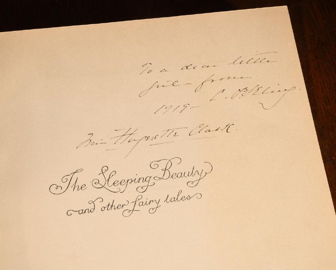 BOOKS: Edmund Dulac 1910 Sleeping Beauty 30 Plates - 3