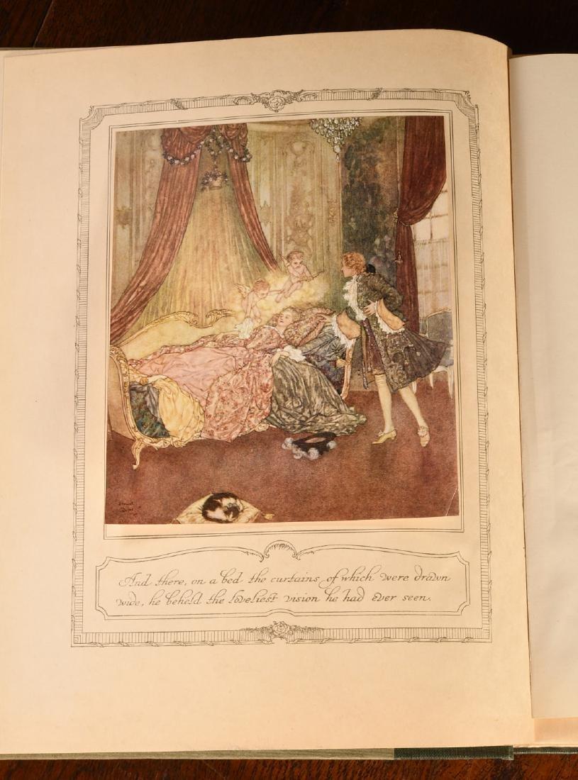 BOOKS: Edmund Dulac 1910 Sleeping Beauty 30 Plates - 4