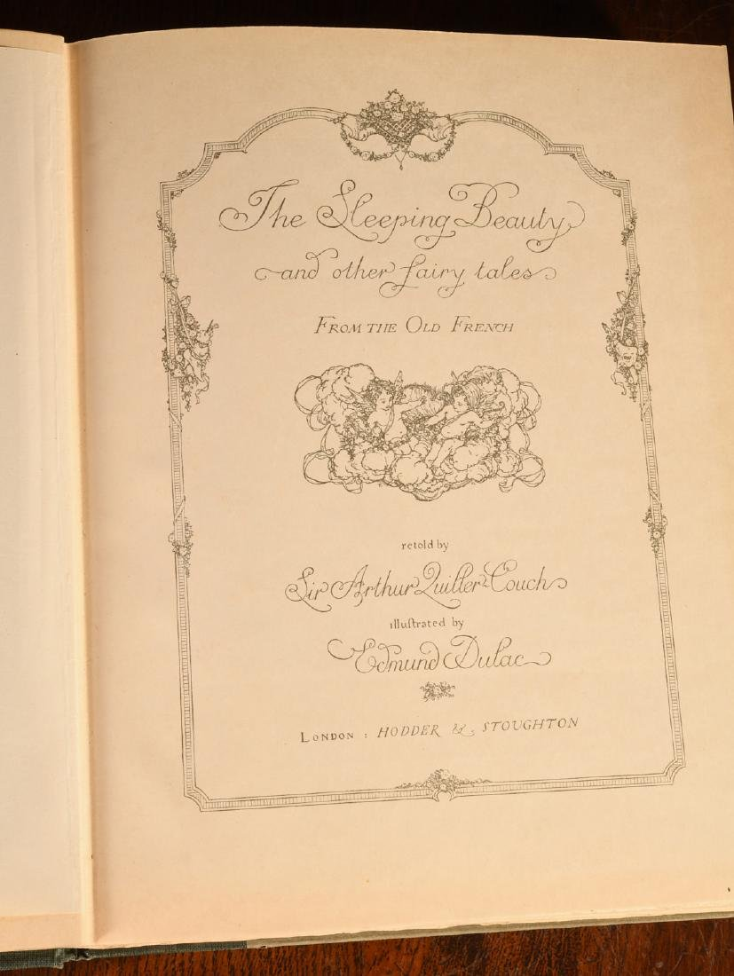 BOOKS: Edmund Dulac 1910 Sleeping Beauty 30 Plates - 5