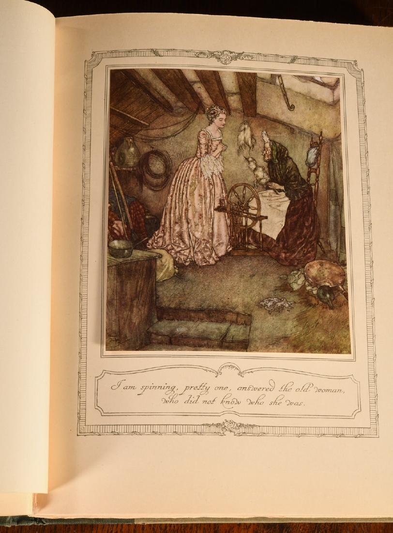 BOOKS: Edmund Dulac 1910 Sleeping Beauty 30 Plates - 6