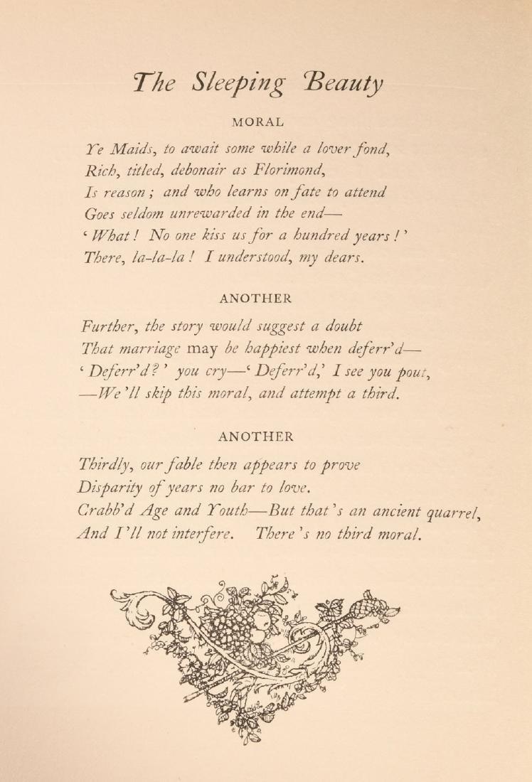 BOOKS: Edmund Dulac 1910 Sleeping Beauty 30 Plates - 7