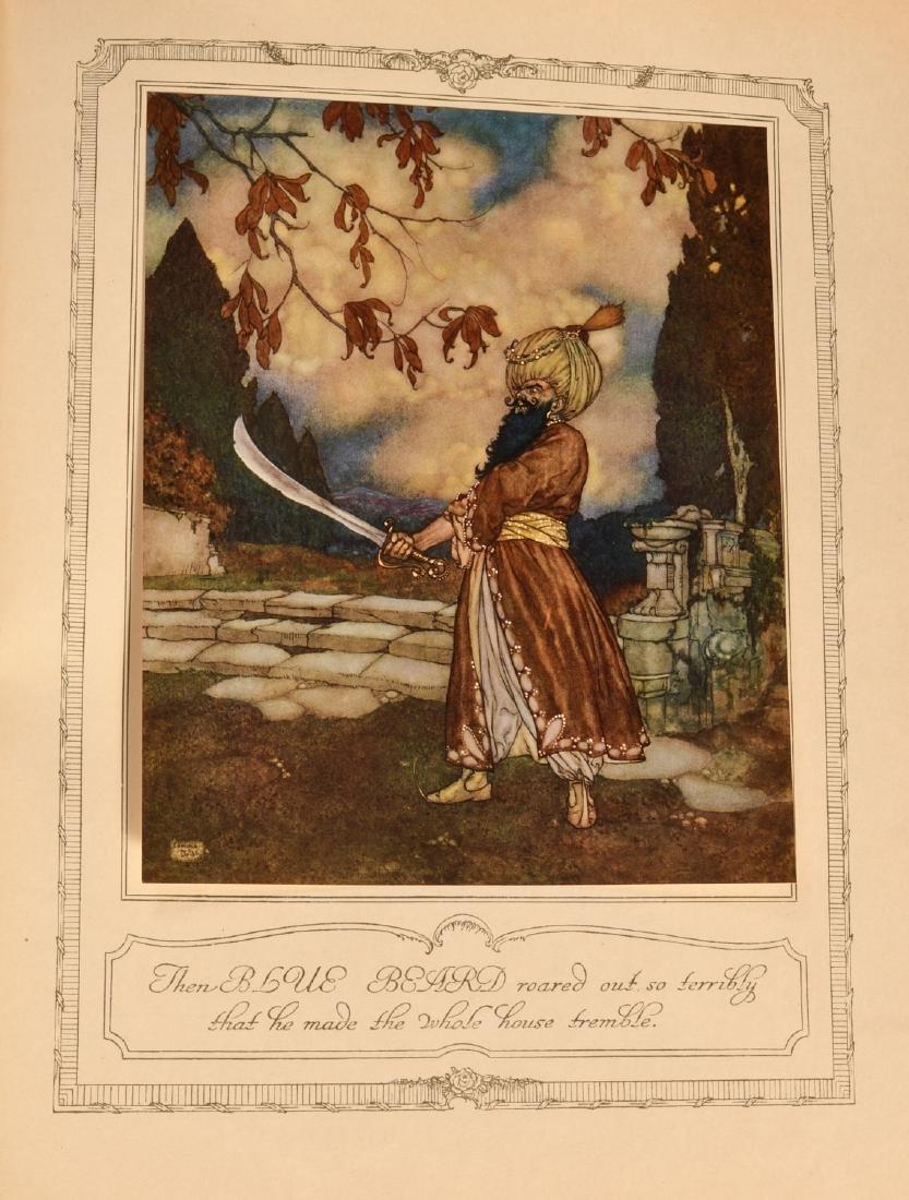 BOOKS: Edmund Dulac 1910 Sleeping Beauty 30 Plates - 8