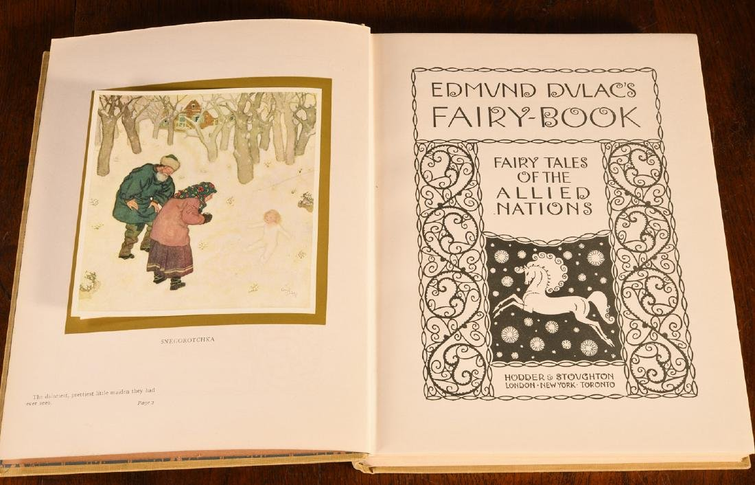 BOOKS: Edmund Dulac's Fairy-Book 1916 - 4